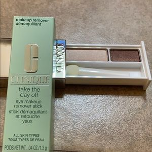 Clinique Like Mink eyeshadow & eye makeup remover